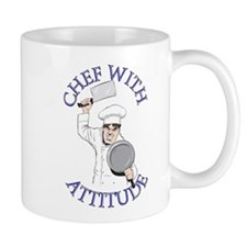 Male Chef Small Mugs