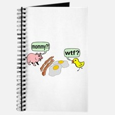 Bacon And Eggs Nightmare Journal