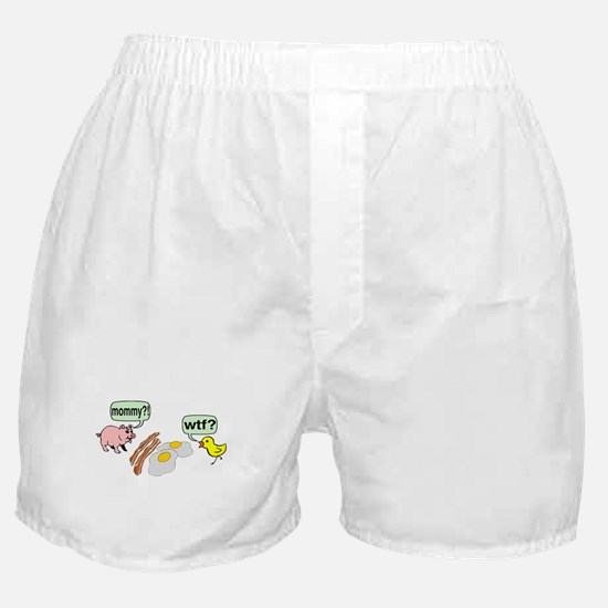 Bacon And Eggs Nightmare Boxer Shorts