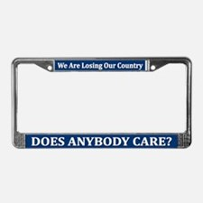 Does Anybody Care? - License Plate Frame