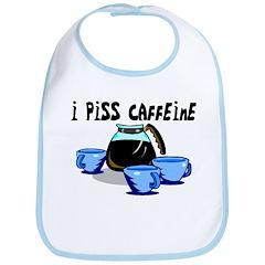 Coffee Piss Caffeine Bib