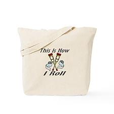 How I Roll Injured Tote Bag