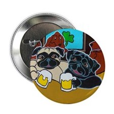 St. Puggy's Day Button