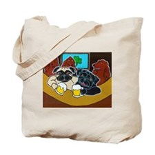 St. Puggy's Day Tote Bag