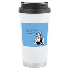 Christ Twitter Stainless Steel Travel Mug