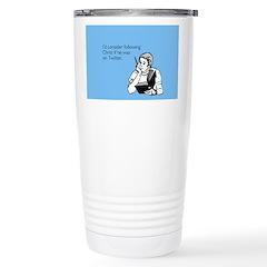 Christ Twitter Travel Mug