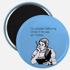 Christ Twitter Magnet