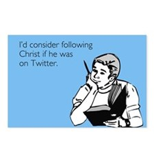 Christ Twitter Postcards (Package of 8)