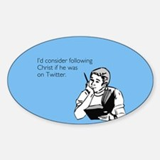 Christ Twitter Decal
