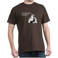 Christ Twitter Dark T-Shirt