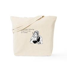 Christ Twitter Tote Bag