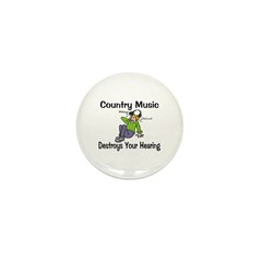 Country Music Mini Button (10 pack)