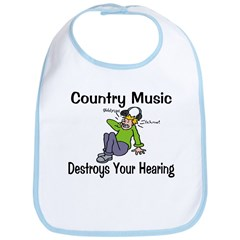 Country Music Bib
