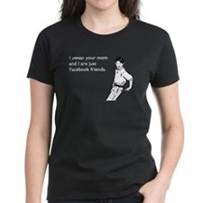Mom Facebook Women's Dark T-Shirt
