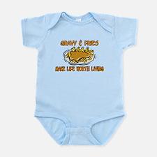 Gravy And Fries Infant Bodysuit