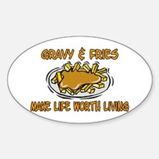 Gravy And Fries Decal