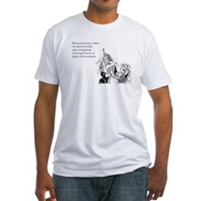 Being Around You Fitted T-Shirt