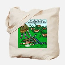 Dick Cheney Shooting Accident Tote Bag