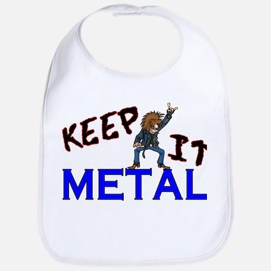 Keep It Metal Bib