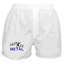 Keep It Metal Boxer Shorts
