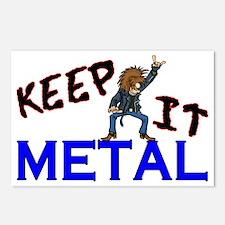 Keep It Metal Postcards (Package of 8)
