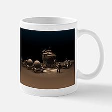 Chocolate Space Mug