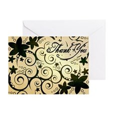 Old Paper Flowers Greeting Cards (Pk of 10)