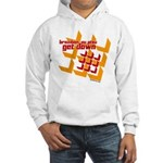 Get Down (squares design) Hooded Sweatshirt