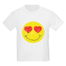 Vintage In Love Smiley 2 T-Shirt