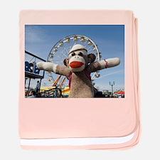 Ernie the Sock Monkey Infant Blanket