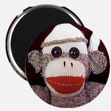 Ernie the Sock Monkey Magnet