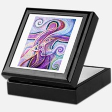 Singing to Van Gogh Keepsake Box