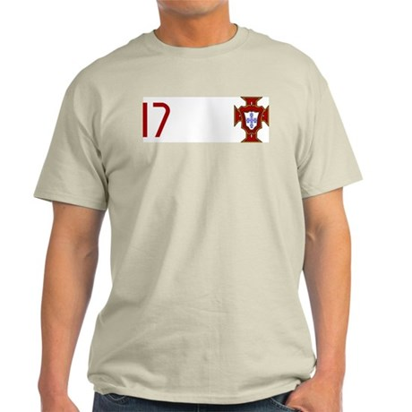 Portugal 06 - Ronaldo Ash Grey T-Shirt