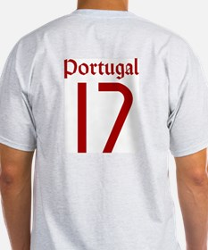 Portugal 06 - Ronaldo Ash Grey T-Shirt