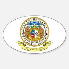 Missouri Seal Sticker (Oval)