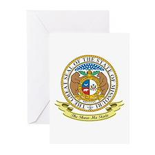 Missouri Seal Greeting Cards (Pk of 10)