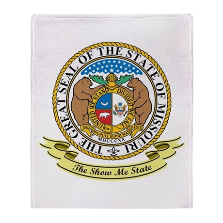 Missouri Seal Throw Blanket