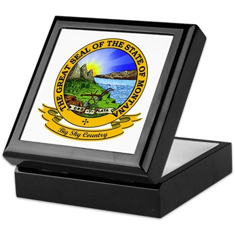 Montana Seal Keepsake Box
