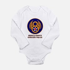 8th Air Force Long Sleeve Infant Bodysuit