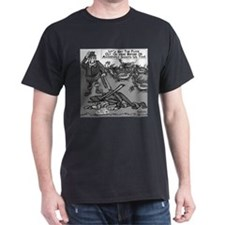 Dick Cheney Shooting Accident Black T-Shirt