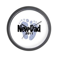 New Dad 2011 (Boy) Wall Clock