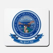 Nebraska Seal Mousepad