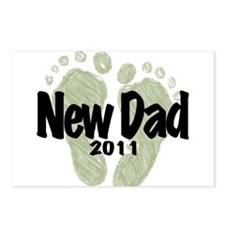 New Dad 2011 (Unisex) Postcards (Package of 8)