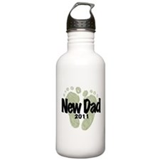 New Dad 2011 (Unisex) Water Bottle