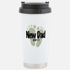 New Dad 2011 (Unisex) Travel Mug