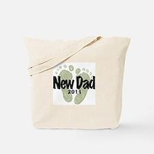 New Dad 2011 (Unisex) Tote Bag