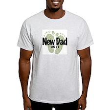New Dad 2011 (Unisex) T-Shirt