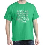 Being an ignorant bigot Dark T-Shirt