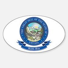 Nevada Seal Sticker (Oval)