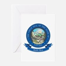 Nevada Seal Greeting Cards (Pk of 10)